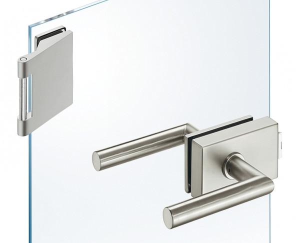 JUVA Glastür-Garnitur GHR 303 für Drehtüren im Wohnbereich