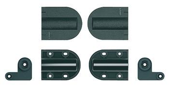 Häfele Deckelscharnier Soft-close für mittelgroße Deckel mit integriertem Rotationsdämpfer