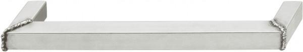Häfele Möbelgriff H1050 Sockelgriff Edelstahl matt Bohrabstand 192 mm