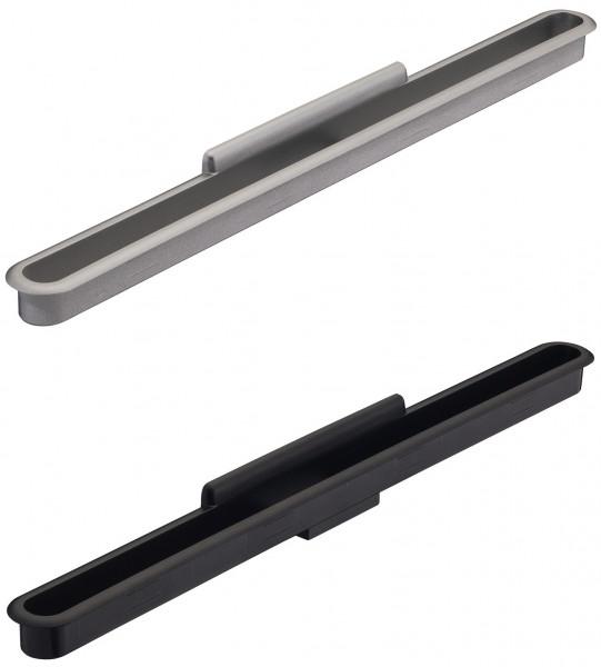 Häfele Tablethalter H1817 zum Einfräsen 282x22 mm für Tablets bis 10 Zoll