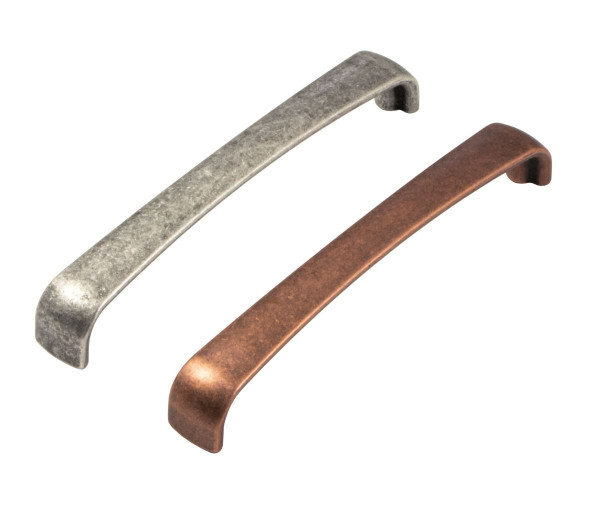 Möbelgriff ORION aus Metall, BA 128 mm