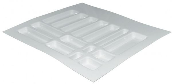 Häfele Spezialeinsatz H4129 für medizinischer Bereich Universaleinteilung flach Kunststoff weiß