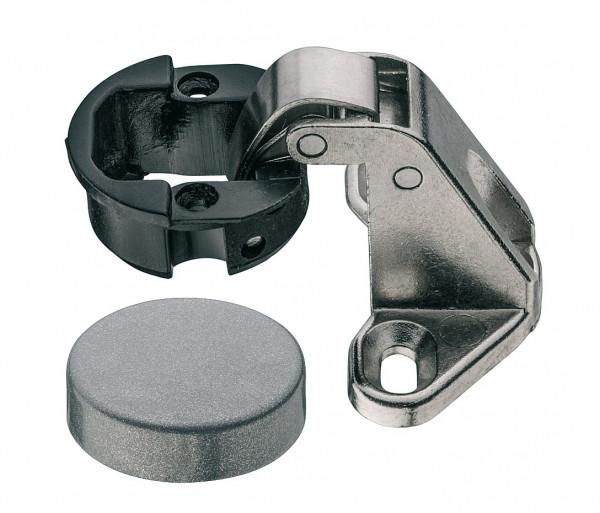 Glastürscharnier aus Metall mit Schließautomatik 95°