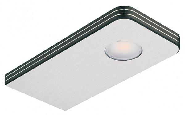 Häfele Unterbauleuchte 24 V LED 1112 Loox Leuchte Schichtstoff mit Aluminium