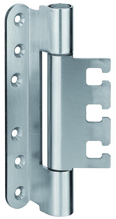 Häfele Startec Objekttürband, Größe 160 mm - Türband für Aufnahmeelement VX - für gefälzte Türen, 20