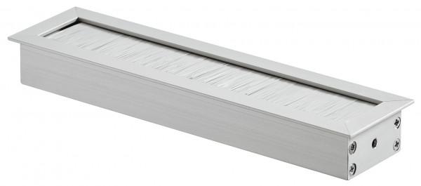 Häfele Kabeldurchlass quadratisch 45 x 180 mm Modell H9006 Aluminium