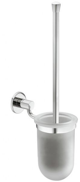 Häfele WC-Bürstengarnitur H5751 Messing chrom poliert rund