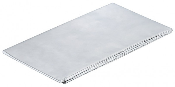 Häfele Schutzfolie Aluminium wärmereflektierend selbstklebend Arbeitsplattenschutz