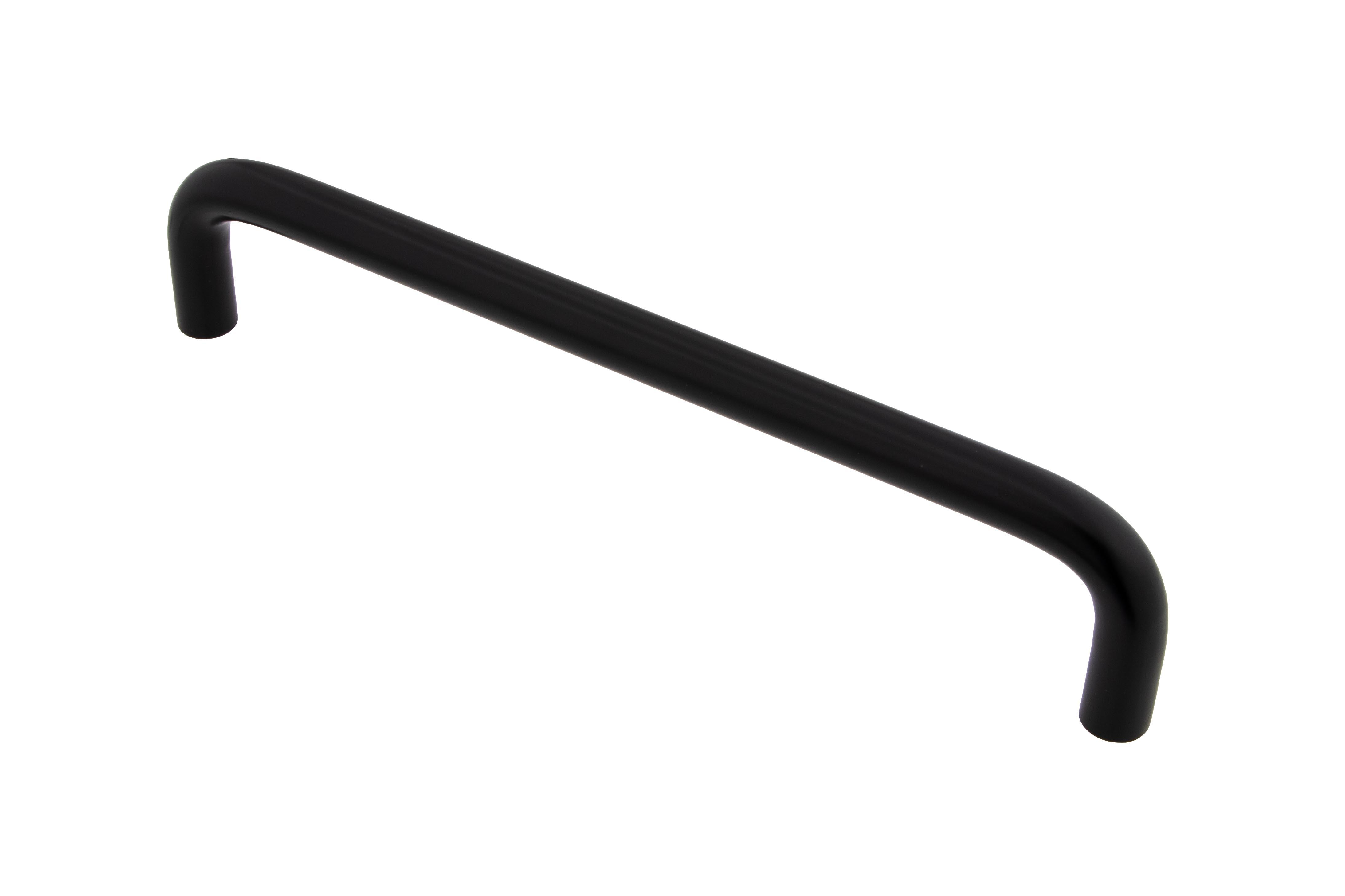 Häfele Möbelgriff H1011 Bügelgriff schwarz Bohrabstand 160 mm