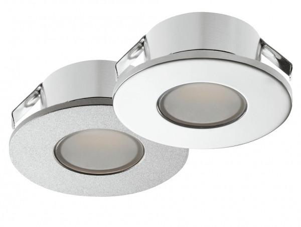 Häfele Ein- /Unterbauleuchte 12 V rund LED 2022 Loox Unterbauleuchte