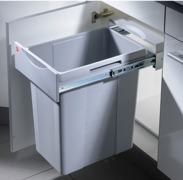 Hailo Einfach-Abfallsammler Easy Cargo 3668-40 42 Liter Mülltrennsystem grau
