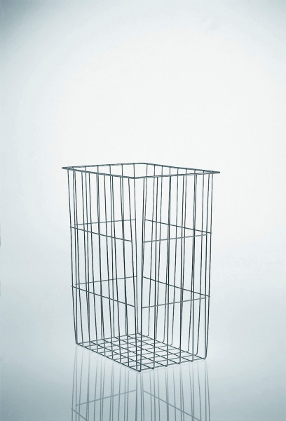 Kesseböhmer Wäschekorb Standard Stahl weiß