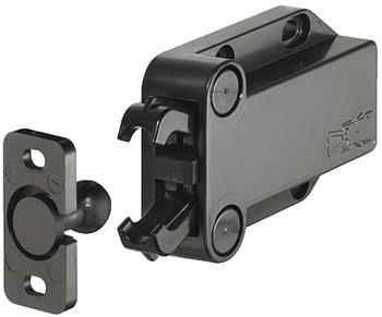 Häfele Federschnäpper H6088 zum Schrauben Kunststoff 57x40 mm