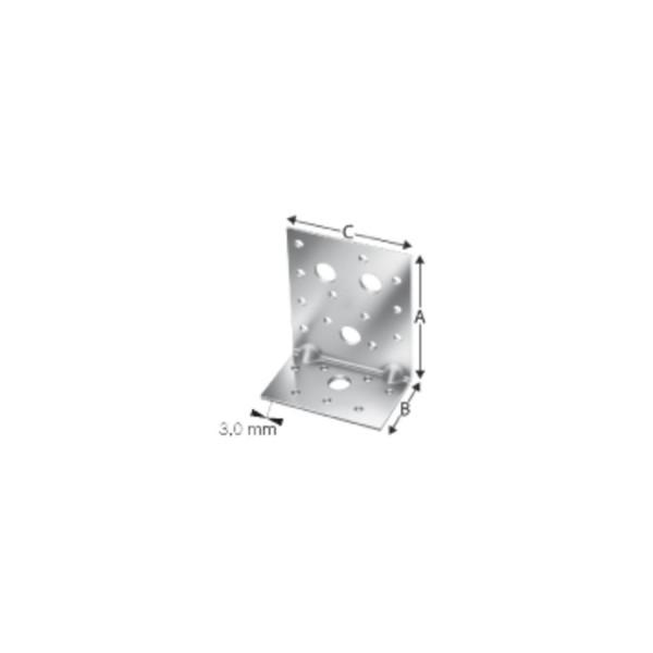 Simpson Winkelverbinder AE 48 / AE 76 / AE 116 feuerverzinkt mit Zulassung