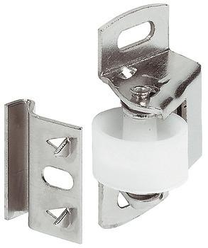 Häfele Rollenschnäpper H6072 zum Schrauben Stahl vernickelt