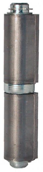 Schwere Anschweißbänder Edelstahl V2A Bandrolle kugelgelagert