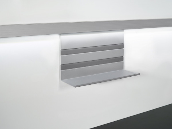 Kesseböhmer Universalablage Linero MosaiQ Titan grau