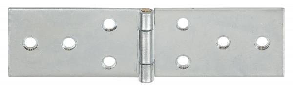 Tischband aus Stahl mit Messingstift rechteckig