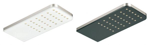 Häfele Unterbauleuchte 12 V eckig LED 1086 Leuchte Aluminium