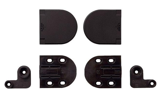 Häfele Deckelscharnier Soft-close für kleine Deckel mit integriertem Rotationsdämpfer