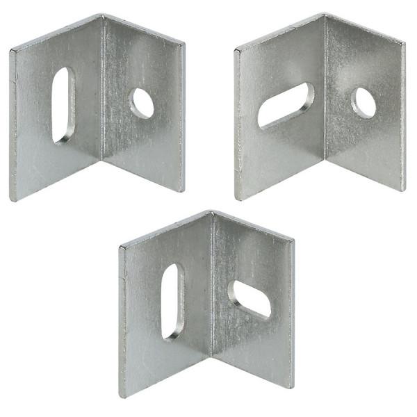 Häfele Verbindungswinkel Stahl Winkelverbinder H10318 Montagewinkel 17x21x25mm