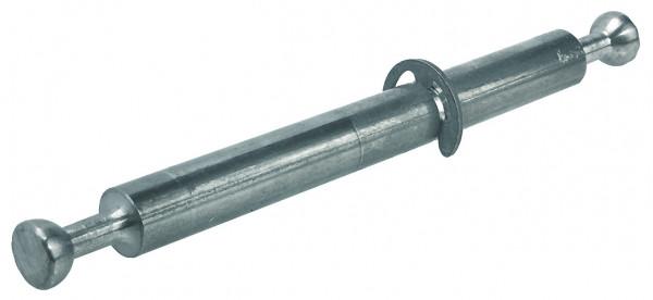 Häfele Minifix Doppelbolzen mit Seegerring Stahl verzinkt