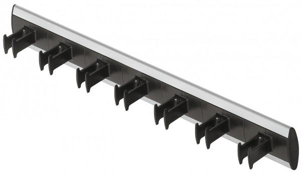 Häfele Gürtelhalter fest montiert für bis zu 7 Gürtel Aluminium