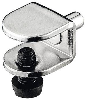 Häfele Bodenträger H3135 für Glasböden Ø 5 mm für Glasdicke 9 mm