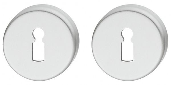 Hoppe Rosetten-Paar Aluminium silberfarben eloxiert