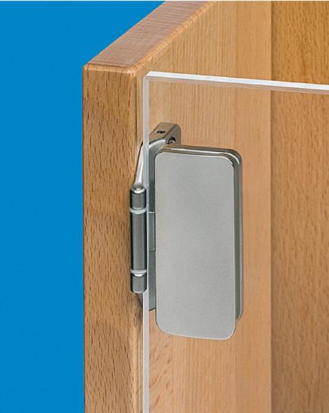 Häfele Glastürscharnier H1420 einliegend Fuge 3 mm Öffnungswinkel 180°