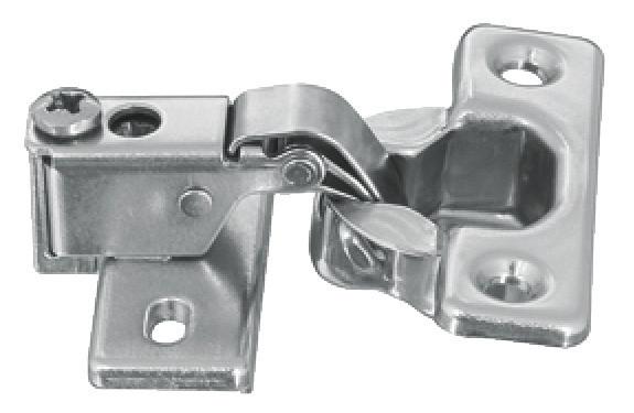 Kurzarmscharnier für dünne Drehtüren ab 14 mm