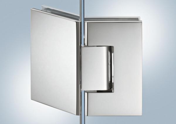Aquasys Duschtürband 135° Messing verchromt poliert