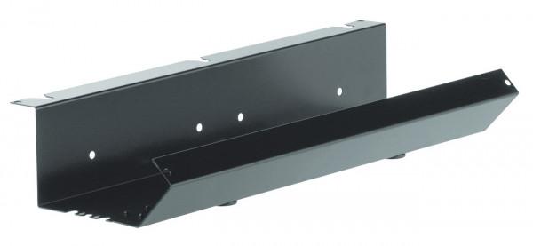 Häfele Kabelkanal Standard Kabelführung für Tische Kabelhalter schwarz viele Längen