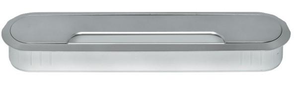 Häfele Kabeldurchlass oval 207 x 45 mm Modell H9005 Kunststoff