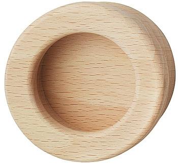 Häfele Muschelgriff Modell H1854 Holz rund Buche natur 60 mm