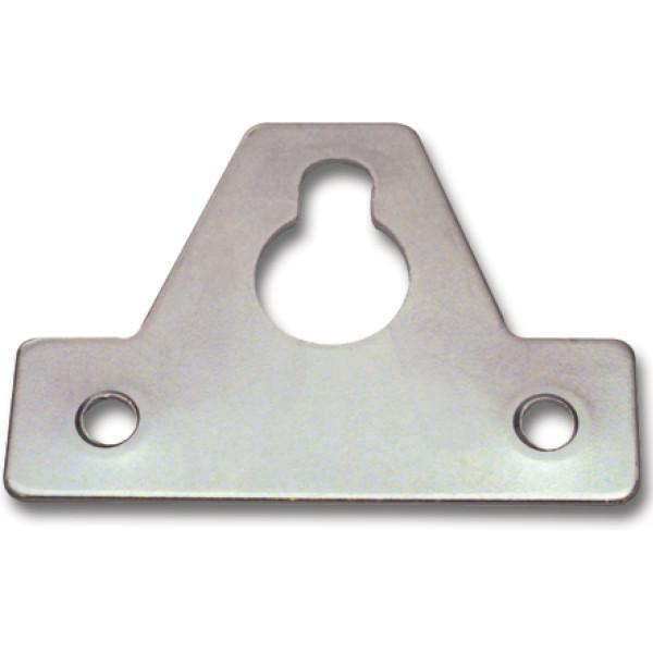 Aufhängeöse zum Schrauben 64x46x1,5 mm Stahl verzinkt