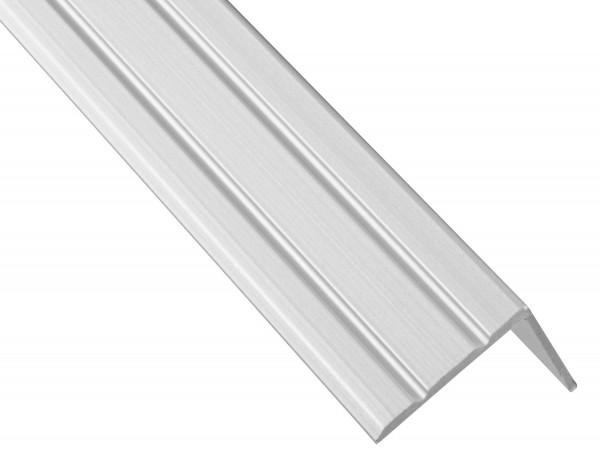 Treppenwinkel selbstklebend Aluminium 25x18 mm