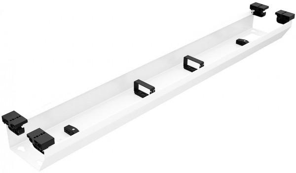 Häfele Kabelkanal weiß zur Aufnahme von Steckdosenleisten und Kabel