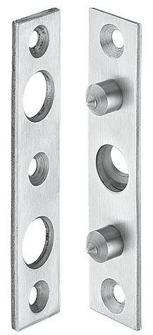 Häfele Bandseitensicherung H8887 vorgerichtet für Maueranker 100mm