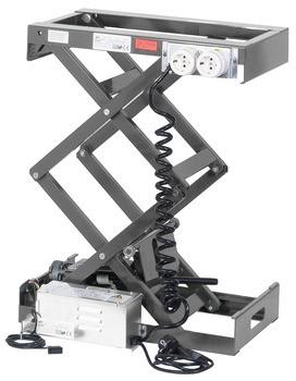 Häfele Hebesystem Doppelscherenmechanik Tragkraft 80–120 kg elektrisch