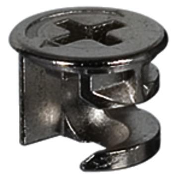 Häfele Verbindergehäuse Minifix 12 Zinkdruckguss mit Abdeckrand ab Holzdicke 12 mm
