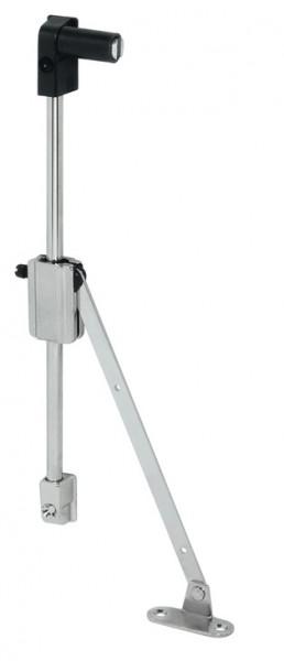 Häfele Bremsklappenhalter H3912 mit einstellbare Bremswirkung - 2-armig mit Magnet