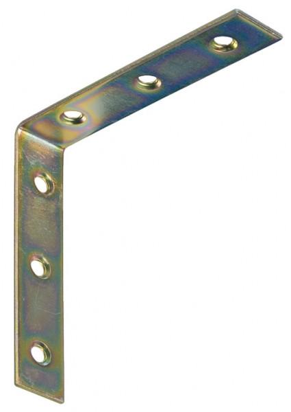 Häfele Stuhlwinkel mit 6 Schraublöcher 100x100x20 mm Stahl verzinkt
