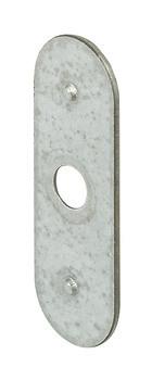 Häfele Gegenstück H6034 für Magnet-Druckverschluss Holztür zum Schrauben