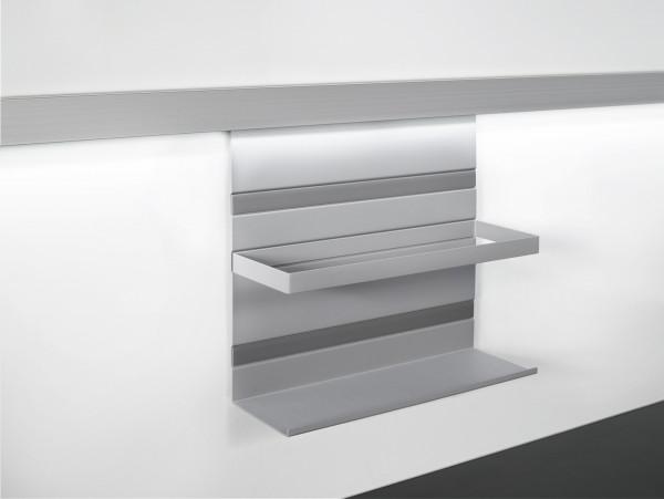 Kesseböhmer Universalablage mit Rahmen Linero MosaiQ Titan grau