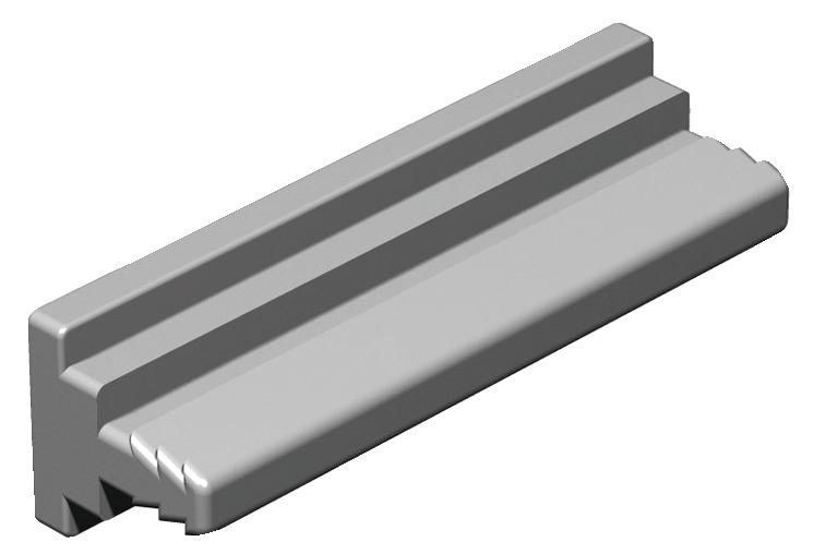 Häfele Sockelverstellfuß H3962 HE Blendenhalter mit Dübelsteg zum Einpressen