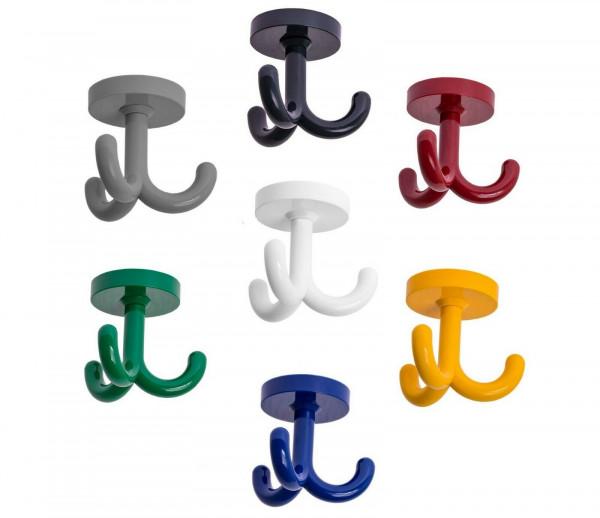 Garderobenhaken KITA aus Kunststoff drehbar