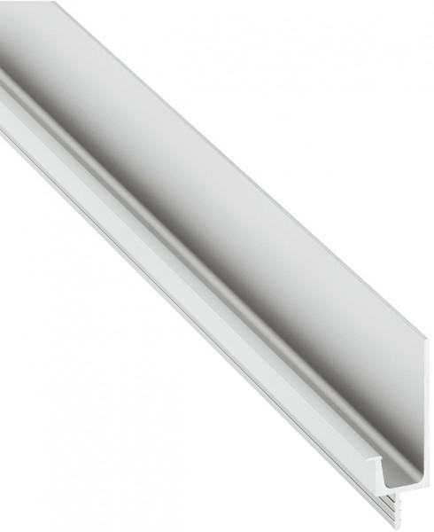 Häfele Griff-Profilleiste H1828 für optisch grifflose Fronten 2500 mm Aluminium
