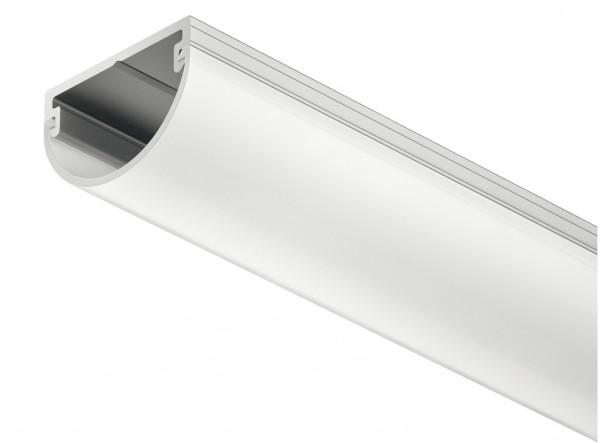 Häfele Schubkastenprofil Loox Aufbauprofil Streuscheibe mattiert