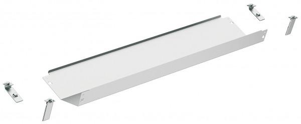 Häfele Kabelkanal Standard Kabelführung für Tische Kabelhalter weißaluminium viele Längen